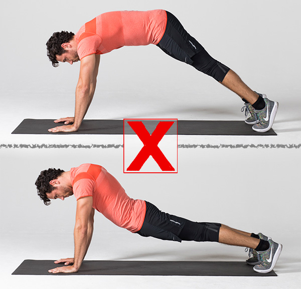 common exercises- plank