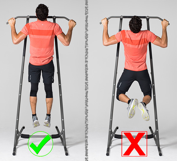 common exercises- pull up
