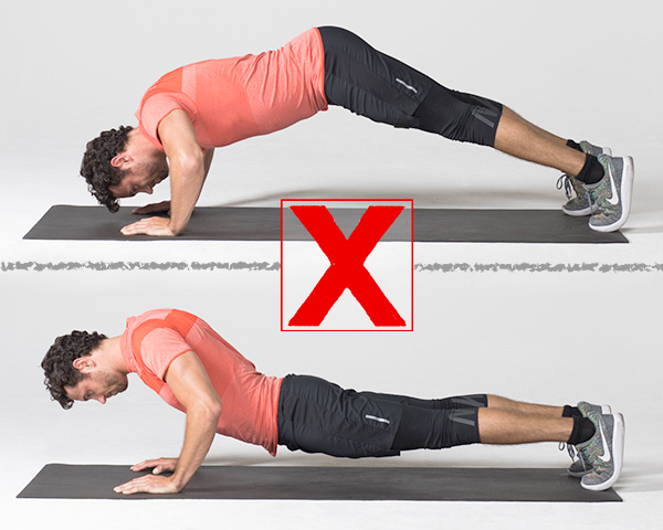 common exercises- push up