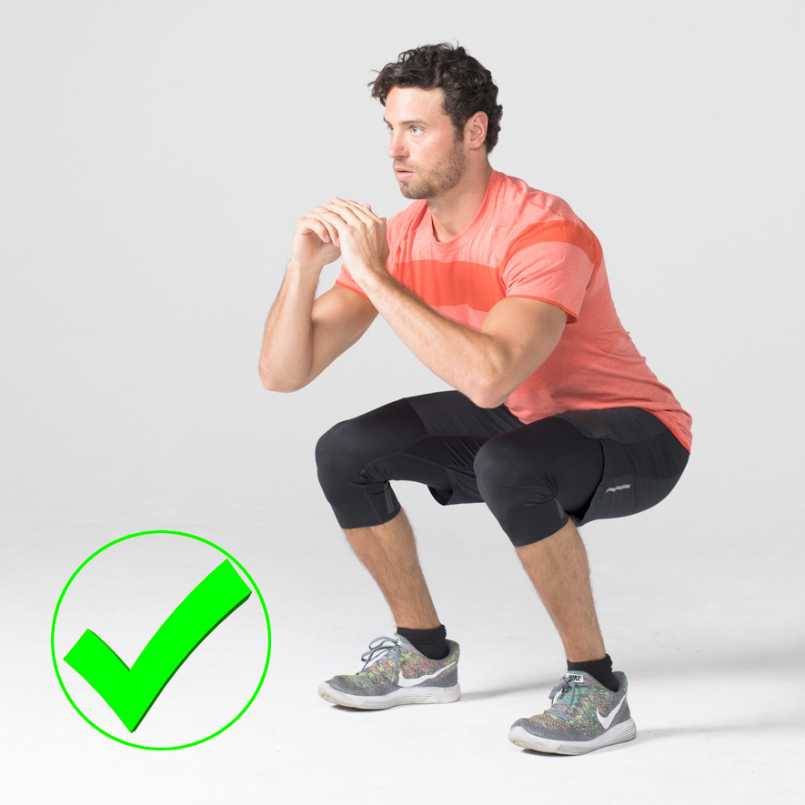 7 Common Exercises People Usually Do Wrong And How to Correct Them squat right