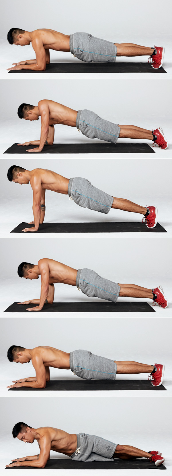 7 of the Best Oblique Exercises for a Strong Core up down hip tap