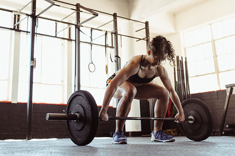 weightlifting for women power clean