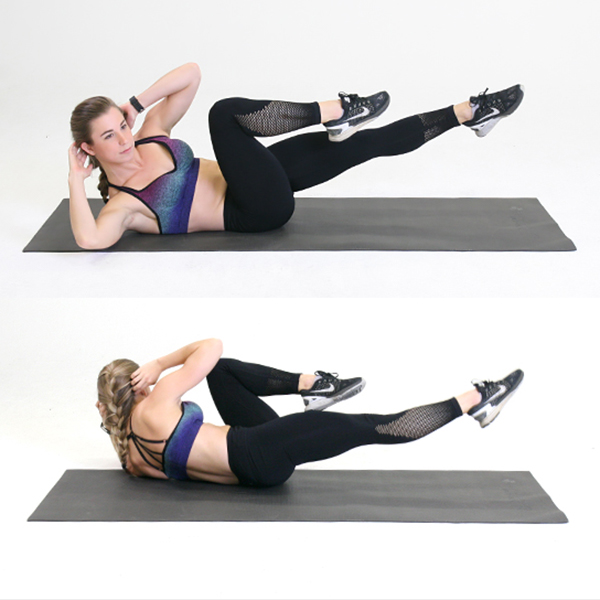Bicycle Crunches What Are They How To Do Them Openfit