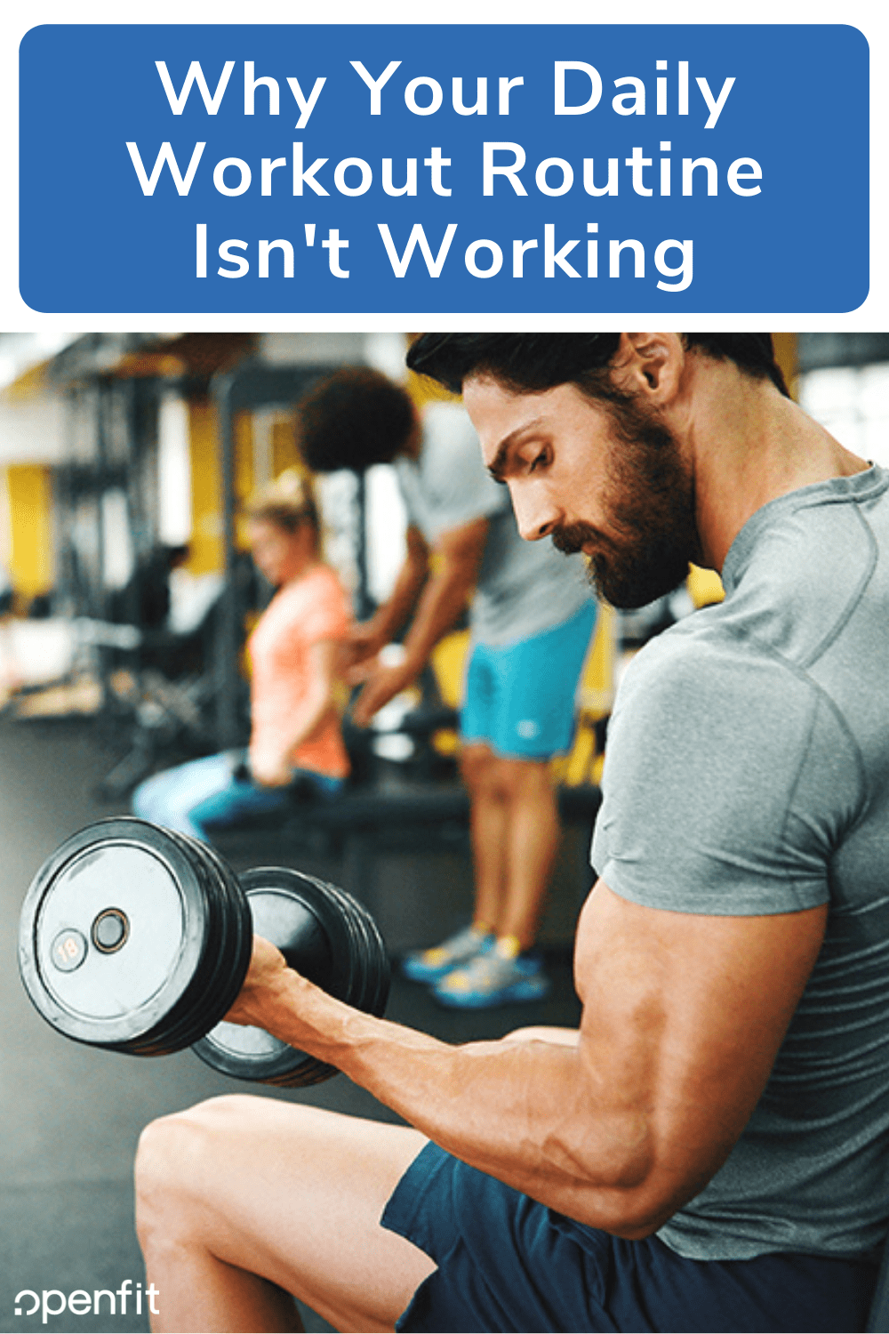 workout routine isnt workout - pin image