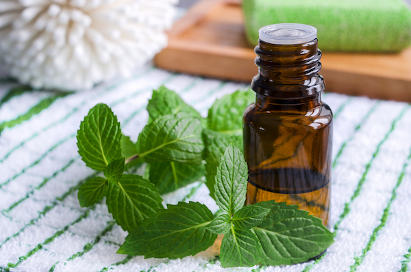 morning workout tips- peppermint oil