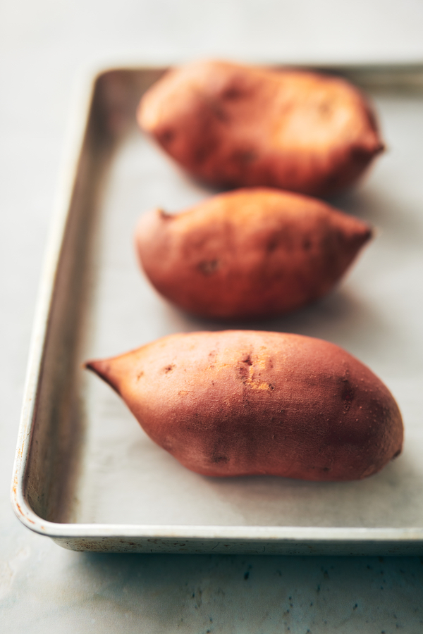 how to cook sweet potatoes- oven