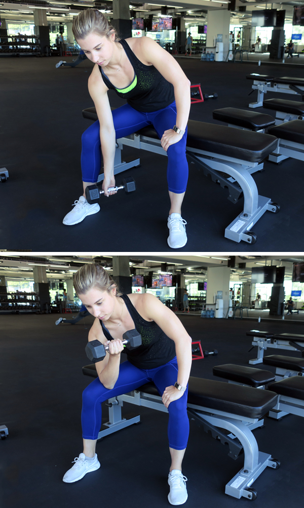How to Do Concentration Curls