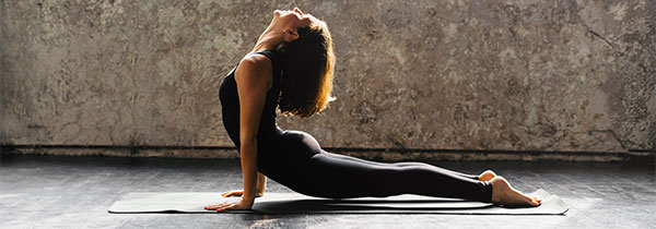 woman | upward facing dog | vinyasa yoga