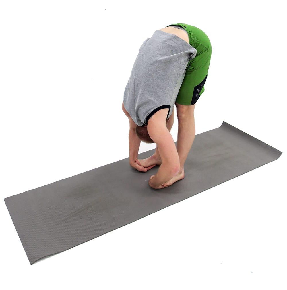 padahastasana forward fold | ashtanga yoga