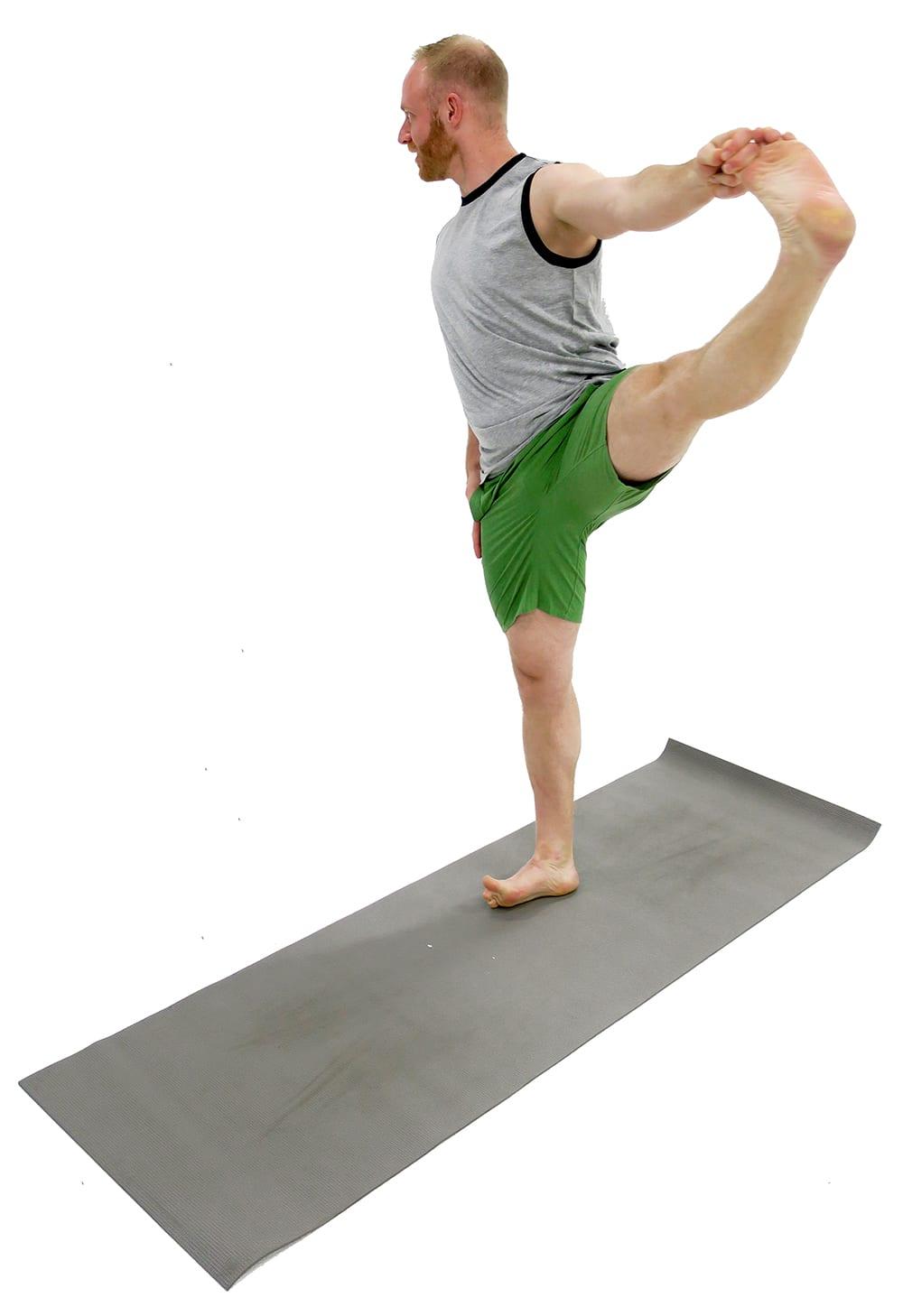 hand to big toe pose | ashtanga yoga