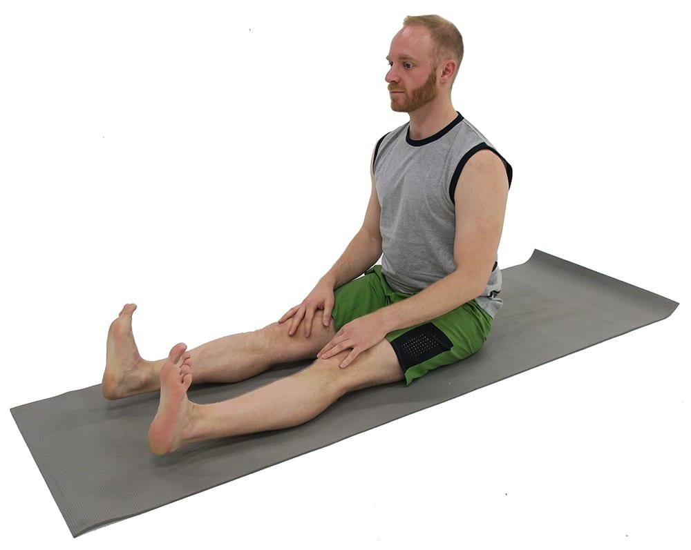 dandasana | staff pose | ashtanga yoga