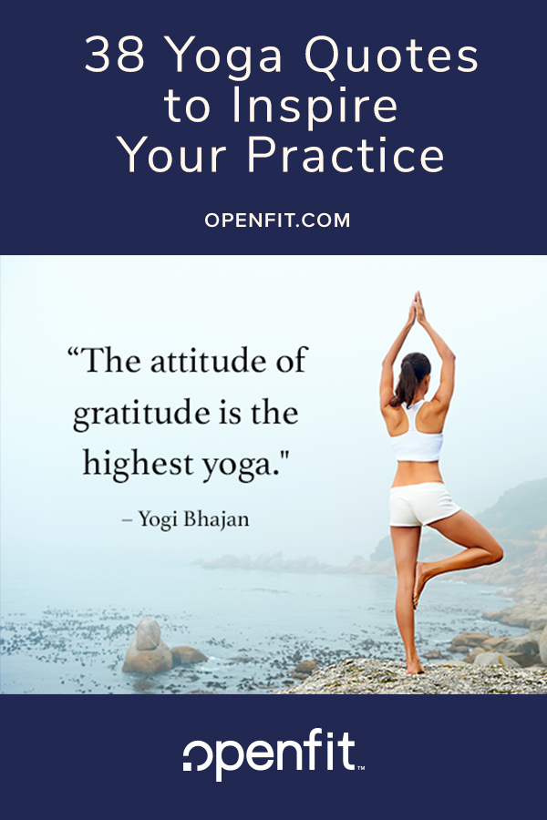 yoga quote pin