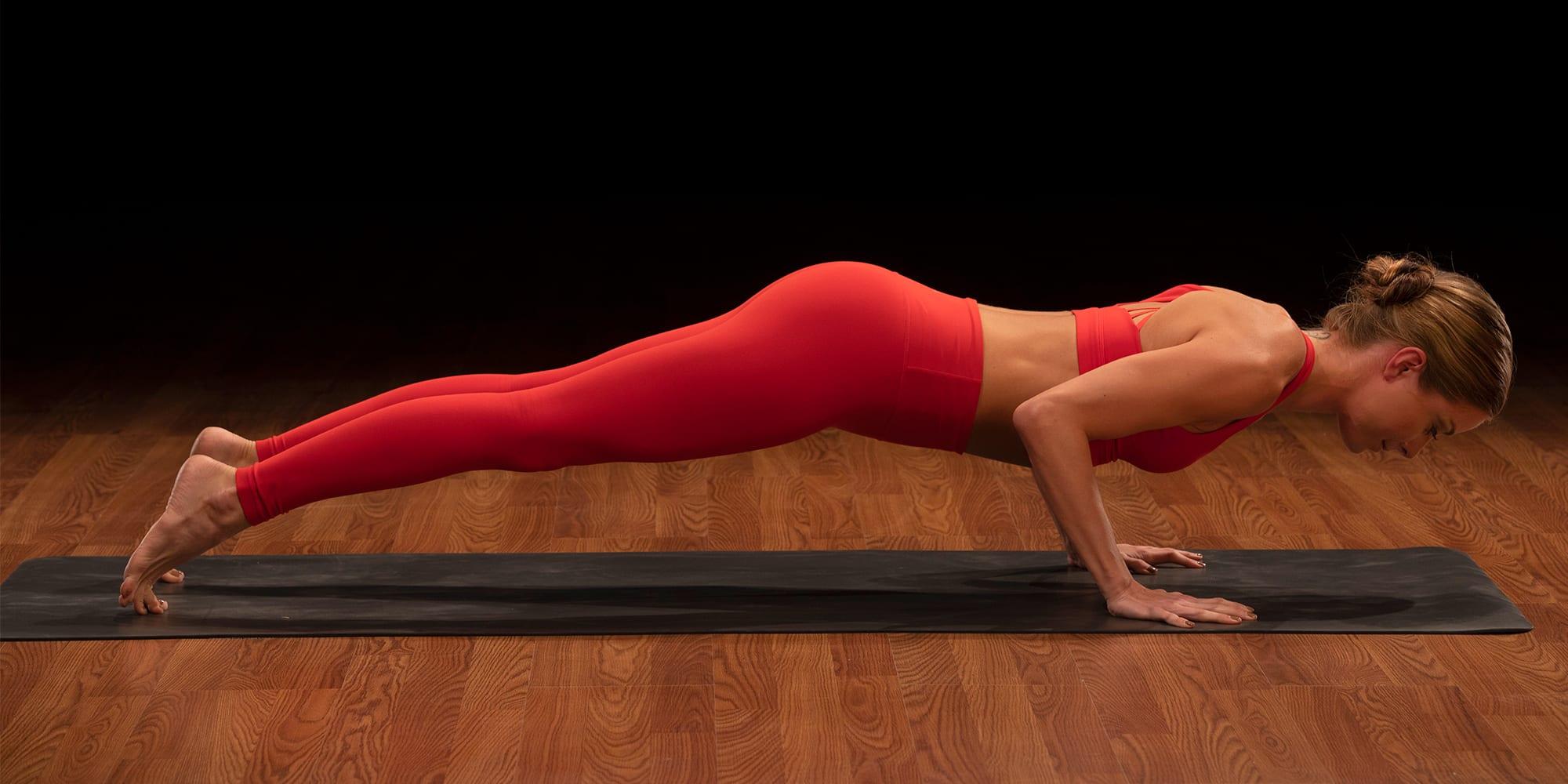 How to Do Chaturanga Dandasana Yoga Pose With Perfect Form