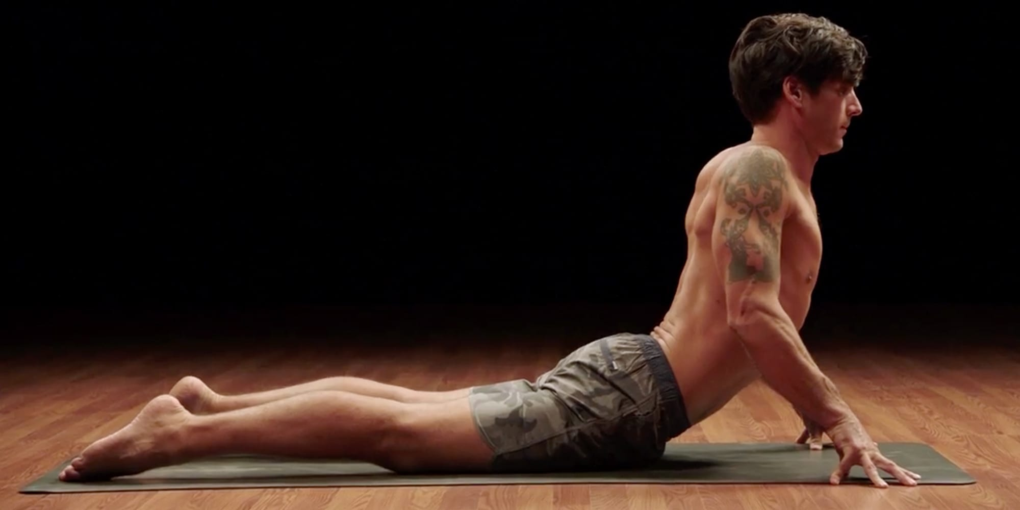 cobra pose bhujangasana yoga52 david regelin