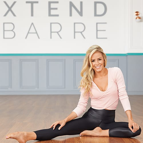 Xtend Barre Andrea Rogers cardio training