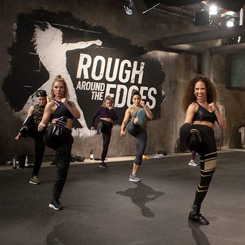 Rough Around the Edges Anisha Gibbs cardio training