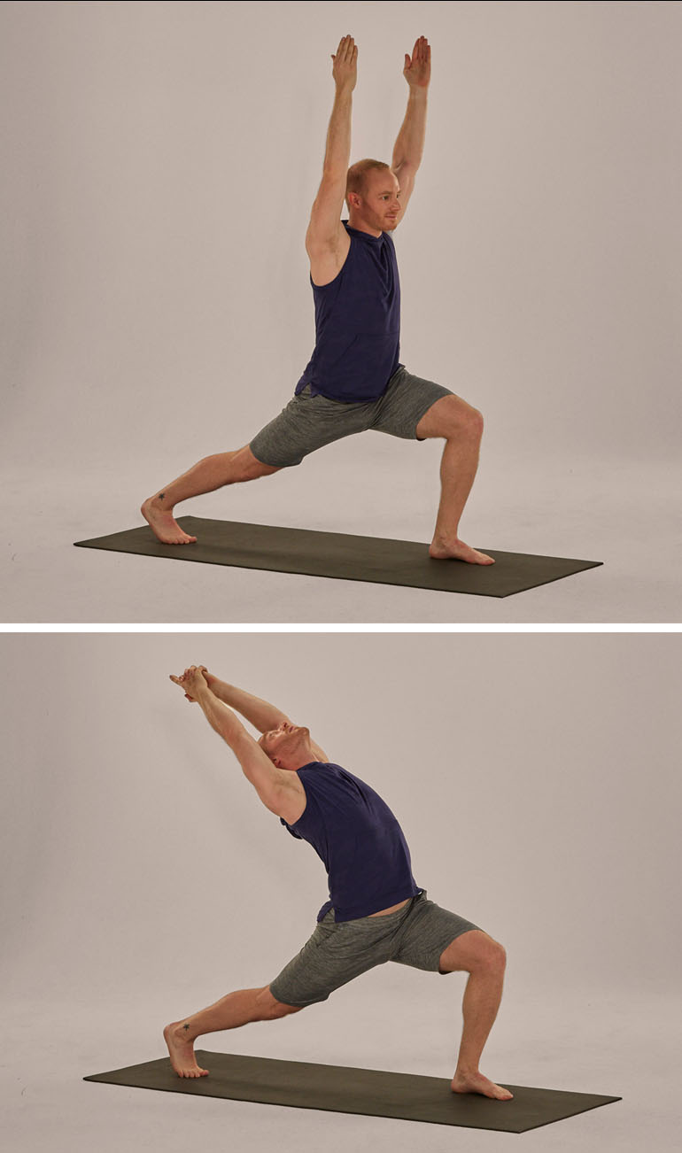 How to do Anjaneyasana -- Low Crescent Lunge