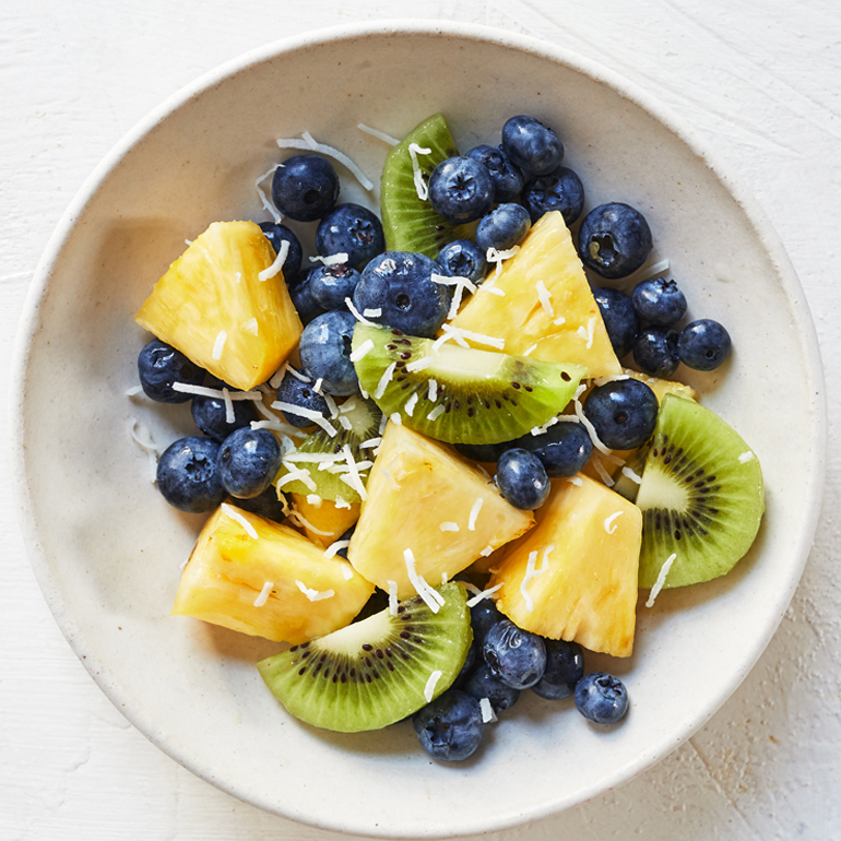 sugar free 3 recipes- Tropical Fruit Salad