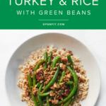 ground turkey and rice