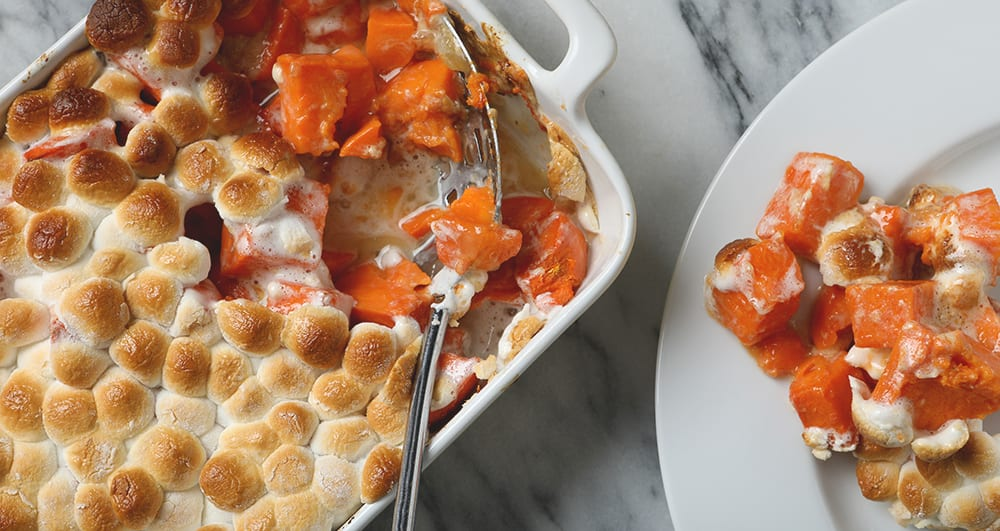 sweet potato casserole thanksgiving food