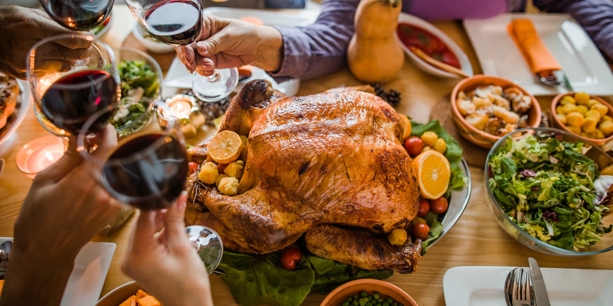 Here's How Much Exercise You Need to Burn Off Thanksgiving Foods