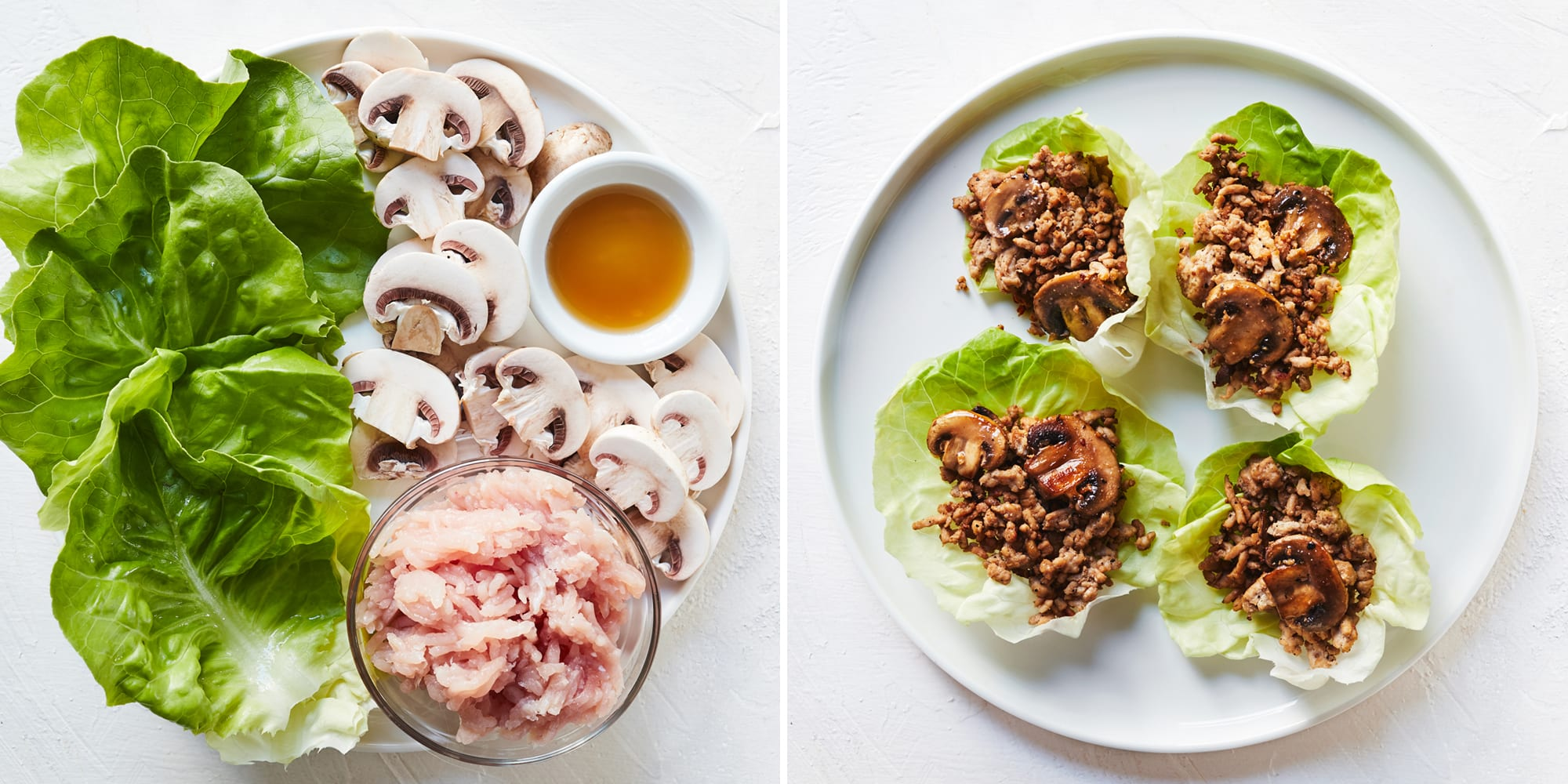 4-Ingredient Ground Turkey Lettuce Wraps