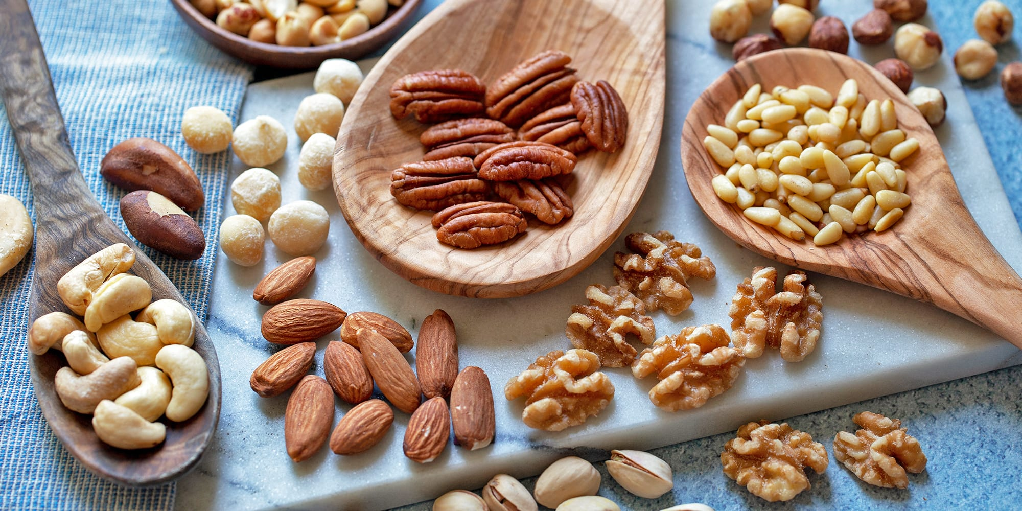 This Is What 100 Calories of Different Kinds of Nuts Looks Like