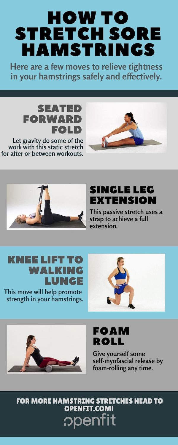hamstring stretches graphic