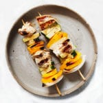 chicken kabob- low carb meal prep