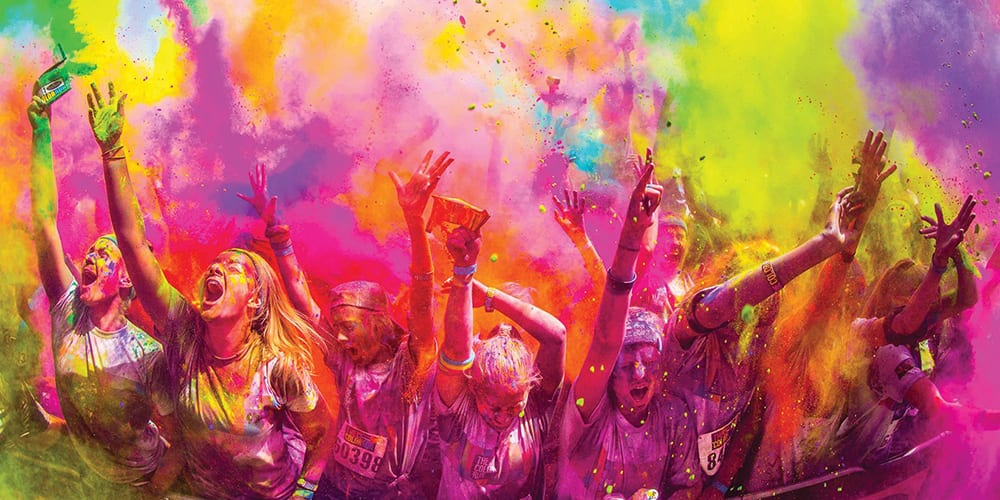 best fun runs | color run