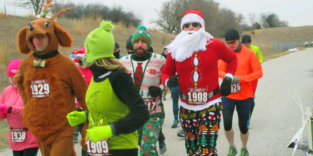 best fun runs | jingle bell run