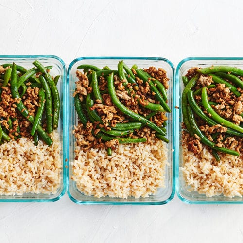 Ground Turkey And Rice With Green Beans 4 Ingredient Meal Openfit