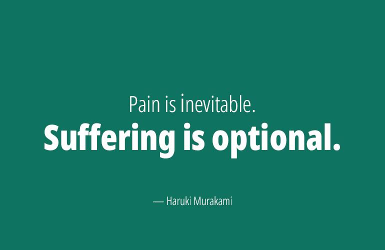 Haruki Murakami Running Quote