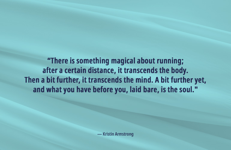 Kristin Armstrong Running Quote