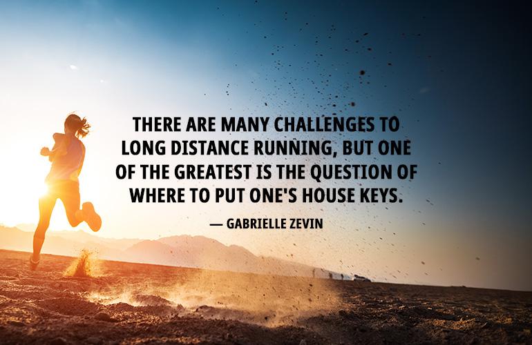Gabrielle Zevin Running Quote