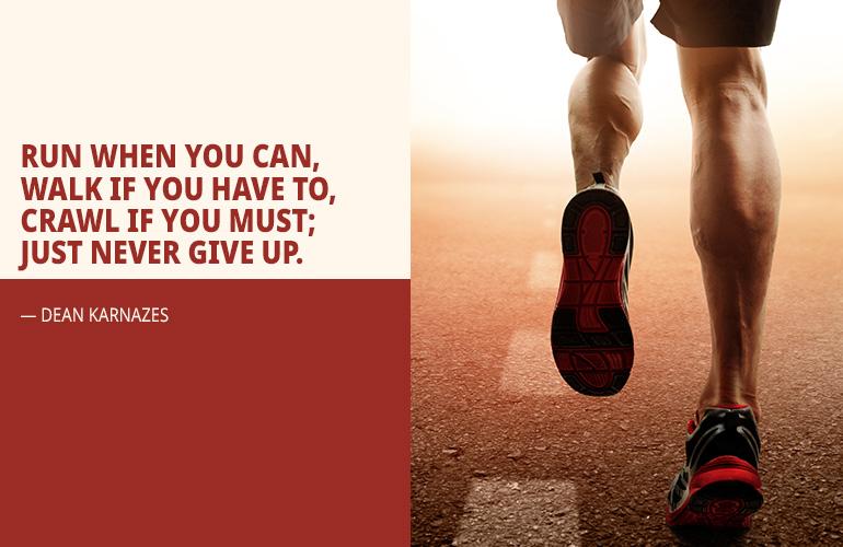 Dean Karnazes Inspirational Running Quote