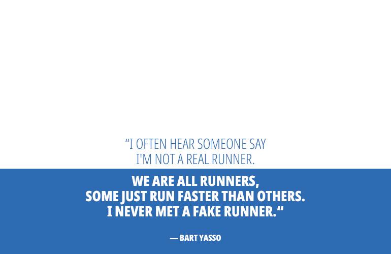 Bart Yasso Motivational Running Quote