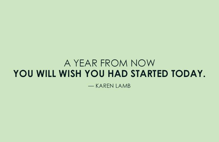 Karen Lamb Motivational Running Quote