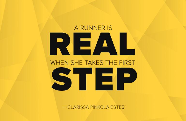 Clarissa Pinkola Estes Running Quote