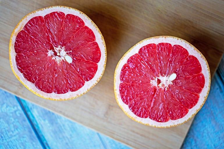 100 Calories of Grapefruit