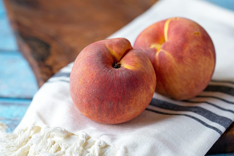 100 Calories of Peach