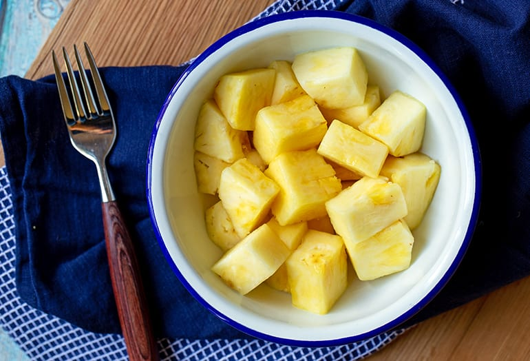 100 Calories of Pineapple