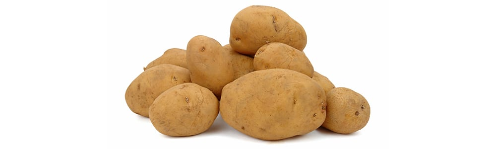 high protein vegetables | russet potatoes