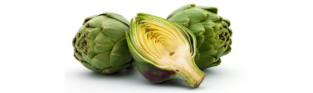 high protein vegetables | artichokes