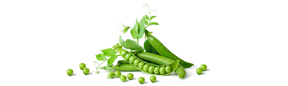 high protein vegetables   green peas