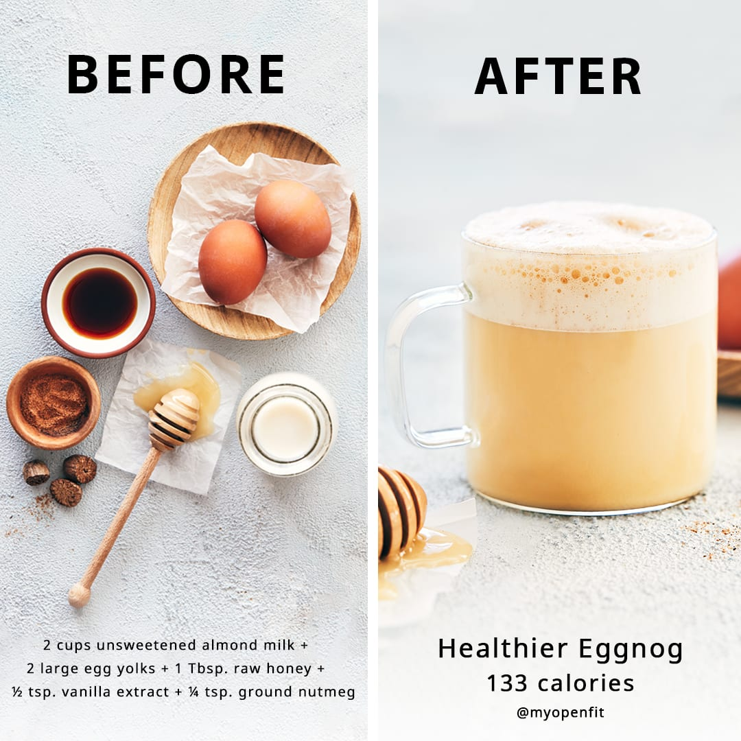 Healthier Eggnog Recipe
