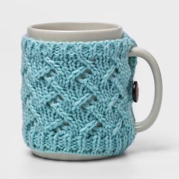 winter knit mug