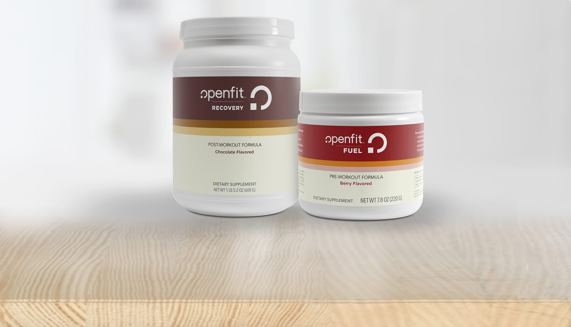 Openfit Supplements - Recovery and Fuel