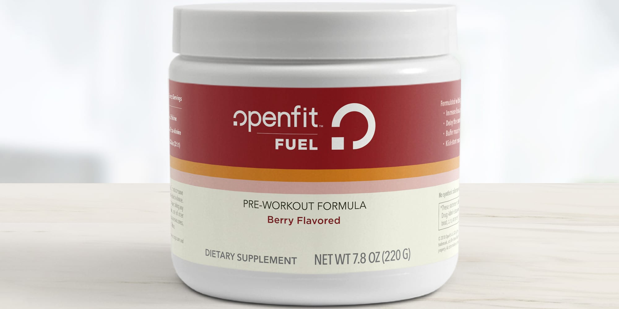 Announcing Openfit Fuel: More Energy, Less Fatigue, Better Performance