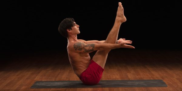 boat pose Yoga52 David Regelin